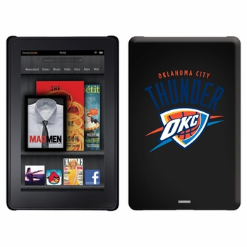 Oklahoma City Thunder Amazon Kindle Fire Thinshield Case with Oklahoma City Design - Click to enlarge
