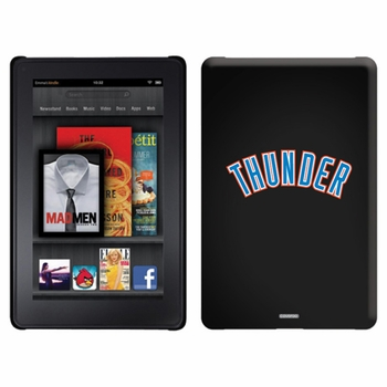 Oklahoma City Thunder Amazon Kindle Fire Thinshield Case with Thunder Design - Click to enlarge
