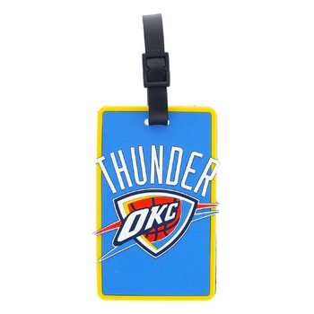 Oklahoma City Thunder Aminco Soft Bag Tag - Click to enlarge