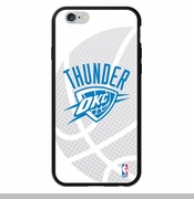 Oklahoma City Thunder Ball Logo Coveroo Iphone 5/5s Case - White