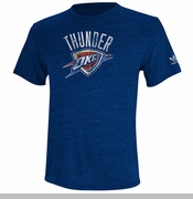 Oklahoma City Thunder Bigger Better Wordmark Tee - Navy