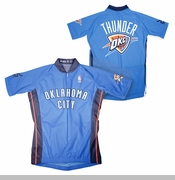 Oklahoma City Thunder Bike Jersey - Blue