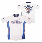 Oklahoma City Thunder Bike Jersey - White