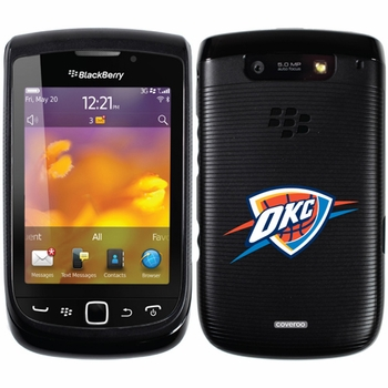 Oklahoma City Thunder Blackberry Torch 9800/9810 Hard Case with OKC Design - Click to enlarge