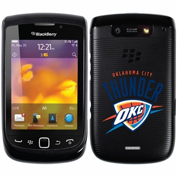 Oklahoma City Thunder Blackberry Torch 9800/9810 Hard Case with Oklahoma City Design - Click to enlarge