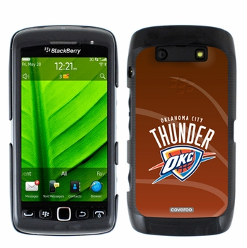 Oklahoma City Thunder Blackberry Torch 9850/9860 Hard Case with Basketball Design - Click to enlarge