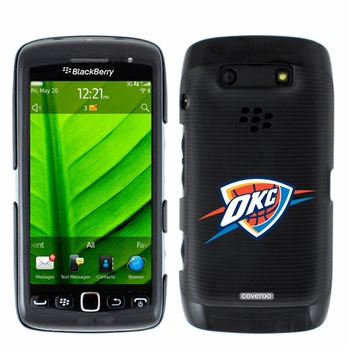 Oklahoma City Thunder Blackberry Torch 9850/9860 Hard Case with OKC Design - Click to enlarge