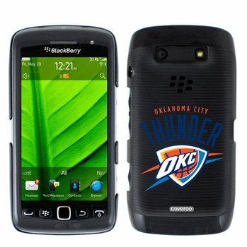 Oklahoma City Thunder Blackberry Torch 9850/9860 Hard Case with Oklahoma City Design - Click to enlarge