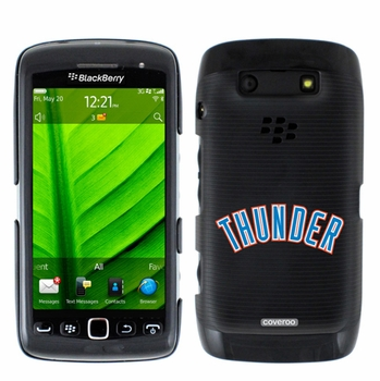 Oklahoma City Thunder Blackberry Torch 9850/9860 Hard Case with Thunder Design - Click to enlarge