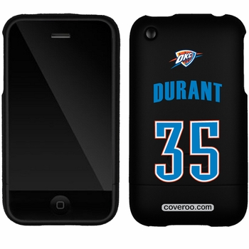Oklahoma City Thunder iPhone 3G/3GS Kevin Durant Design Coveroo - Click to enlarge