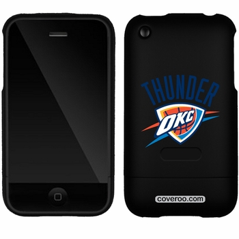 Oklahoma City Thunder iPhone 3G/3GS Logo Design Coveroo - Click to enlarge