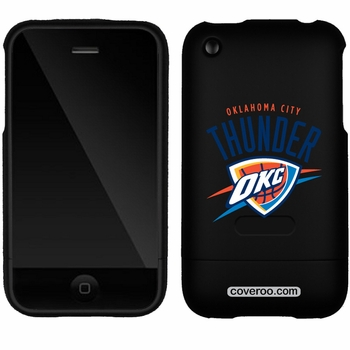 Oklahoma City Thunder iPhone 3G/3GS Oklahoma Design Coveroo - Click to enlarge