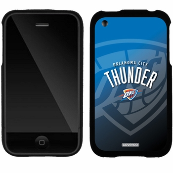 Oklahoma City Thunder iPhone 3G/3GS Slider Case by Coveroo with Oklahoma City Watermark Design - Click to enlarge