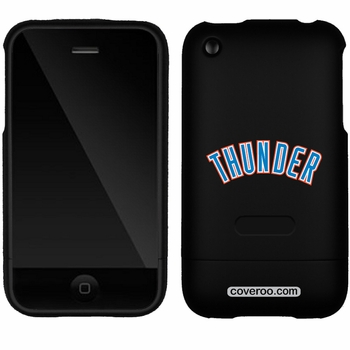 Oklahoma City Thunder iPhone 3G/3GS Thunder Design Coveroo - Click to enlarge