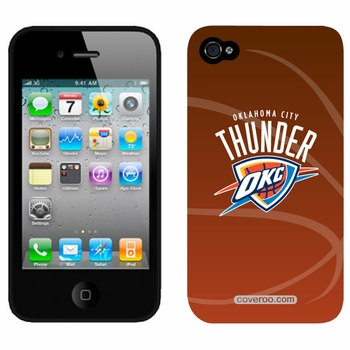 Oklahoma City Thunder iPhone 4/4S Full Color Design Coveroo - Click to enlarge