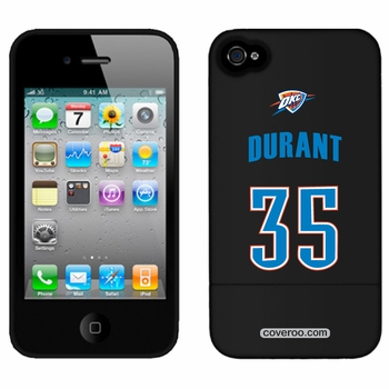 Oklahoma City Thunder iPhone 4/4S Kevin Durant Design Coveroo - Click to enlarge