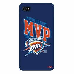 Oklahoma City Thunder Kevin Durant 2014 MVP Autograph iPhone 4  Case - Blue - Click to enlarge
