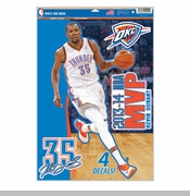 Oklahoma City Thunder Kevin Durant 2014 MVP Decal Set