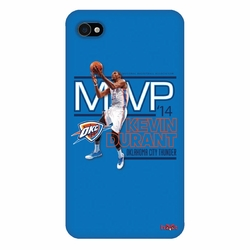Oklahoma City Thunder Kevin Durant 2014 MVP iPhone 4 Case - Blue - Click to enlarge