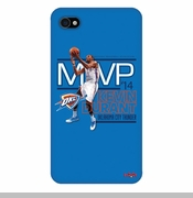 Oklahoma City Thunder Kevin Durant 2014 MVP iPhone 4 Case - Blue