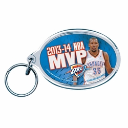 Oklahoma City Thunder Kevin Durant 2014 MVP Key Ring - Click to enlarge