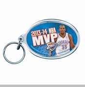 Oklahoma City Thunder Kevin Durant 2014 MVP Key Ring