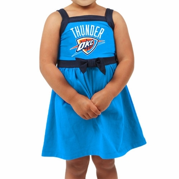 Oklahoma City Thunder Klutch Toddler Party Dress - Blue - Click to enlarge
