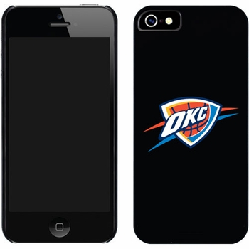 Oklahoma City Thunder - OKC Design on iPhone 5 Thinshield Snap-On Case by Coveroo - Click to enlarge