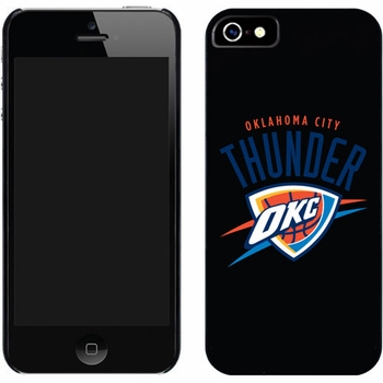 Oklahoma City Thunder OKC Design on iPhone 5 Thinshield Snap-On Case by Coveroo - Click to enlarge