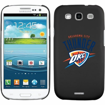 Oklahoma City Thunder OKC design on Samsung Galaxy S3 Thinshield Case by Coveroo - Click to enlarge