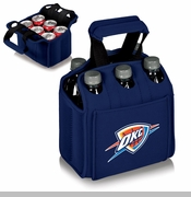 Oklahoma City Thunder Picnic Time&reg Six-Pack Insulated Drink Carrier