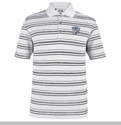 Oklahoma City Thunder adidas Pure Motion Striped Polo - White