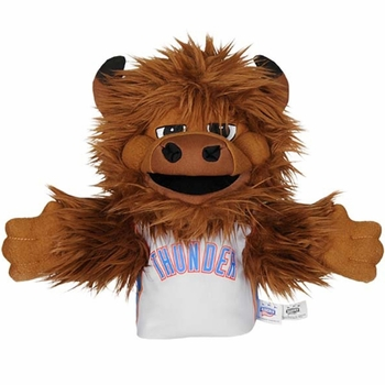 Oklahoma City Thunder Rumble Mascot Hand Puppet - Click to enlarge