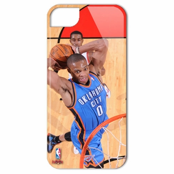 Oklahoma City Thunder Russell Westbrook iPhone 4/4S Case - Click to enlarge