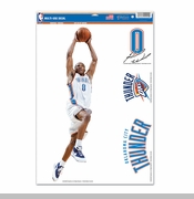 Oklahoma City Thunder Russell Westbrook Ultra Decal