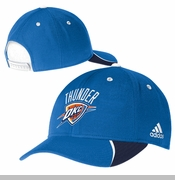 Oklahoma City Thunder Side Panels Structured Adjustable Cap - Blue