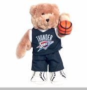 Oklahoma City Thunder Slam Dunk Bear