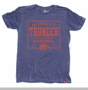 Oklahoma City Thunder Sportiqe Neo Production Short Sleeve Tee - Navy