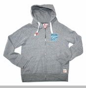 Oklahoma City Thunder Sportiqe Stafford Full Zip Hoodie - Grey