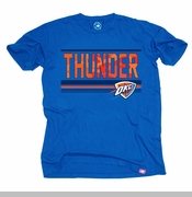 Oklahoma City Thunder Sportiqe Vintage Hunted Tee - Blue