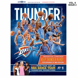 Oklahoma City Thunder Team Magazine - Click to enlarge