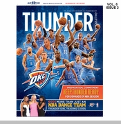 Oklahoma City Thunder Team Magazine