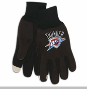 Oklahoma City Thunder Tech Gloves