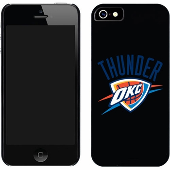 Oklahoma City Thunder - Thunder OKC Design on iPhone 5 Thinshield Snap-On Case by Coveroo - Click to enlarge