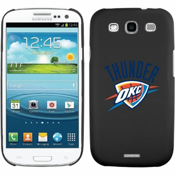 Oklahoma City Thunder - Thunder OKC design on Samsung Galaxy S3 Thinshield Case by Coveroo - Click to enlarge