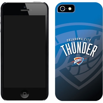 Oklahoma City Thunder Watermark Design on iPhone 5 Thinshield Snap-On Case by Coveroo - Click to enlarge