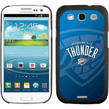 Oklahoma City Thunder - Watermark design on Samsung Galaxy S3 Thinshield Case by Coveroo - Click to enlarge