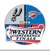 Oklahoma City Thunder Western Conference Finals Head to Head Pin