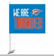 Oklahoma City Thunder WinCraft We Are Thunder Car Flag