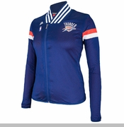 Oklahoma City Thunder Women's adidas 2014 On-Court Jacket - Navy
